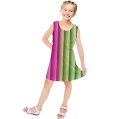 Vertical Blinds A Completely Seamless Tile Able Background Kids  Tunic Dress