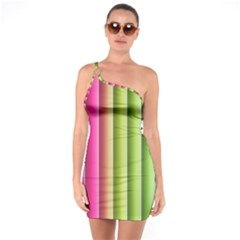 Vertical Blinds A Completely Seamless Tile Able Background One Soulder Bodycon Dress