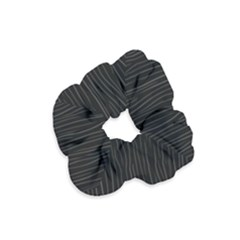 Nightmare Stripes Velvet Scrunchie