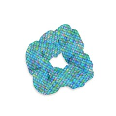 Mermaid Scales Velvet Scrunchie