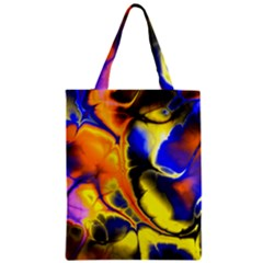 Fractal Art Pattern Cool Zipper Classic Tote Bag