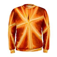 Red Leaf Macro Detail Men s Sweatshirt