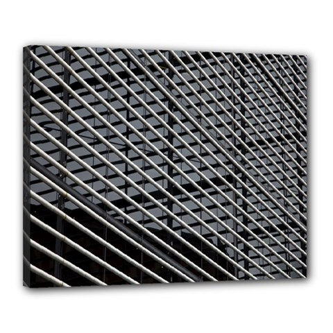 Abstract Architecture Pattern Canvas 20  X 16