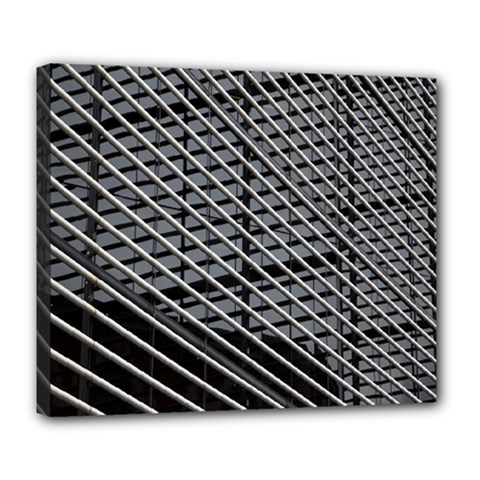 Abstract Architecture Pattern Deluxe Canvas 24  X 20