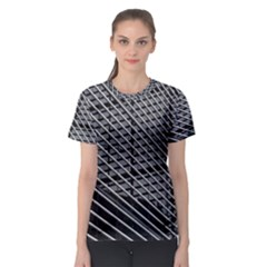 Abstract Architecture Pattern Women s Sport Mesh Tee