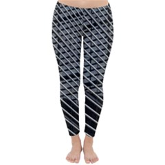 Abstract Architecture Pattern Classic Winter Leggings