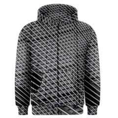 Abstract Architecture Pattern Men s Zipper Hoodie