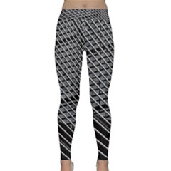 Abstract Architecture Pattern Classic Yoga Leggings