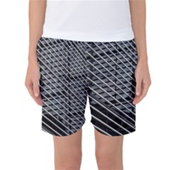 Abstract Architecture Pattern Women s Basketball Shorts