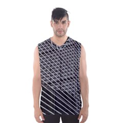 Abstract Architecture Pattern Men s Basketball Tank Top