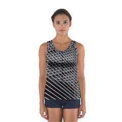 Abstract Architecture Pattern Women s Sport Tank Top