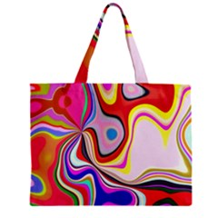 Colourful Abstract Background Design Mini Tote Bag
