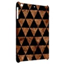 TRIANGLE3 BLACK MARBLE & BROWN STONE Apple iPad Mini Hardshell Case View2