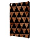 TRIANGLE3 BLACK MARBLE & BROWN STONE Apple iPad Mini Hardshell Case View3