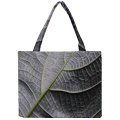 Leaf Detail Macro Of A Leaf Mini Tote Bag