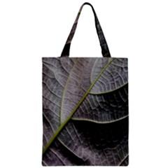 Leaf Detail Macro Of A Leaf Zipper Classic Tote Bag