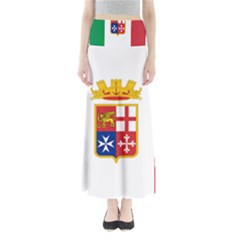 Naval Ensign Of Italy Maxi Skirts
