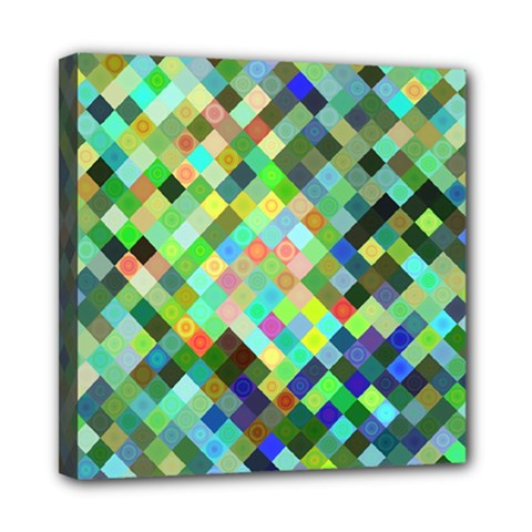 Pixel Pattern A Completely Seamless Background Design Mini Canvas 8  X 8