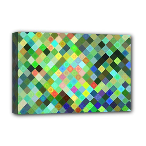 Pixel Pattern A Completely Seamless Background Design Deluxe Canvas 18  X 12
