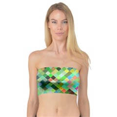 Pixel Pattern A Completely Seamless Background Design Bandeau Top