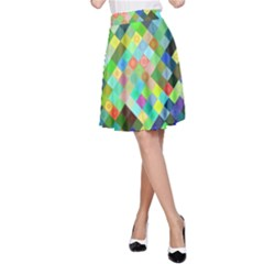 Pixel Pattern A Completely Seamless Background Design A Line Skirt