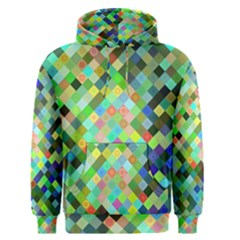 Pixel Pattern A Completely Seamless Background Design Men s Pullover Hoodie