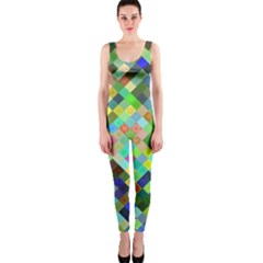 Pixel Pattern A Completely Seamless Background Design Onepiece Catsuit