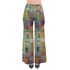 Woven Colorful Abstract Background Of A Tight Weave Pattern Pants