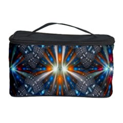 Fancy Fractal Pattern Background Accented With Pretty Colors Cosmetic Storage Case