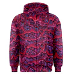 Plastic Mattress Background Men s Zipper Hoodie