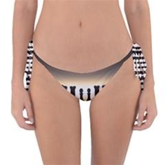 Chess Pieces Reversible Bikini Bottom