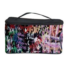 Graffiti Wall Pattern Background Cosmetic Storage Case