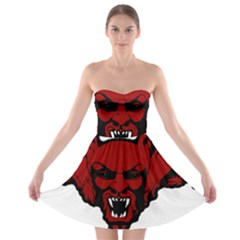 Dracula Strapless Bra Top Dress