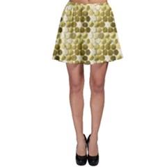 Cleopatras Gold Skater Skirt