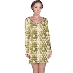 Cleopatras Gold Long Sleeve Nightdress