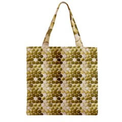 Cleopatras Gold Zipper Grocery Tote Bag