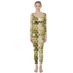 Cleopatras Gold Long Sleeve Catsuit