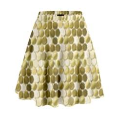 Cleopatras Gold High Waist Skirt