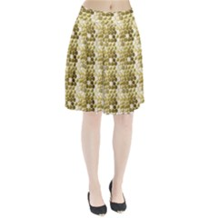 Cleopatras Gold Pleated Skirt