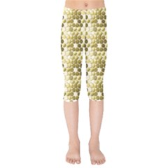 Cleopatras Gold Kids  Capri Leggings