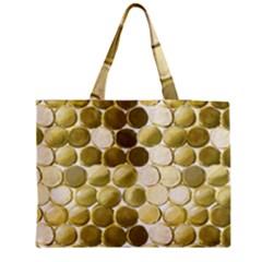 Cleopatras Gold Medium Zipper Tote Bag