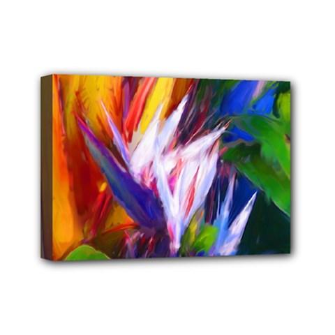 Palms02 Mini Canvas 7  X 5