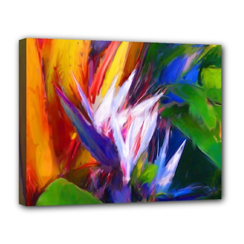 Palms02 Canvas 14  X 11