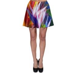 Palms02 Skater Skirt