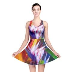 Palms02 Reversible Skater Dress