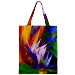 Palms02 Zipper Classic Tote Bag