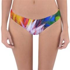 Palms02 Reversible Hipster Bikini Bottoms