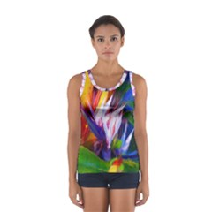 Palms02 Women s Sport Tank Top