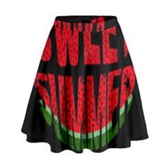 Watermelon   Sweet Summer High Waist Skirt