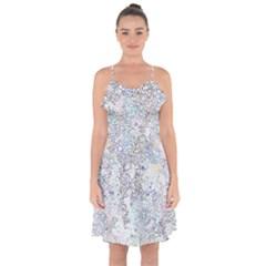 Chaos W2 Ruffle Detail Chiffon Dress